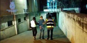 Detienen a dos personas que agredieron con un palo a una agente policial durante la protesta por Hasél en Madrid