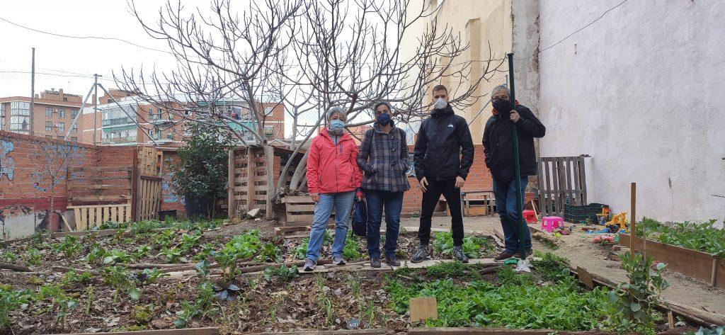 El Solar de Matilde planta cara este sábado a la subasta de su parcela tras siete años de gestión ciudadana en Carabanchel