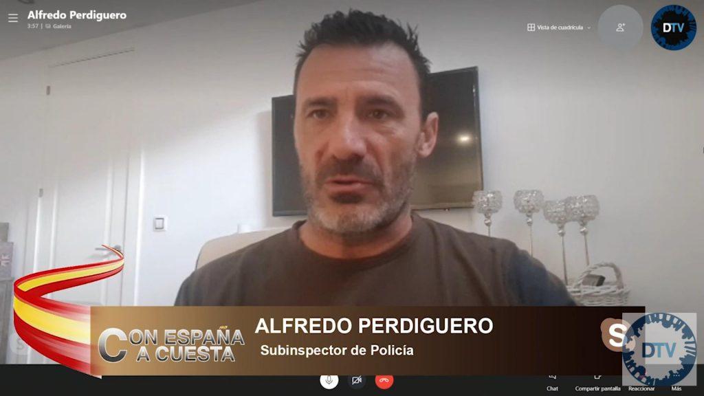"""Alfredo Perdiguero felicitó a la Policía de Madrid: """"Los manifestantes venían a reventar la ciudad"""""""