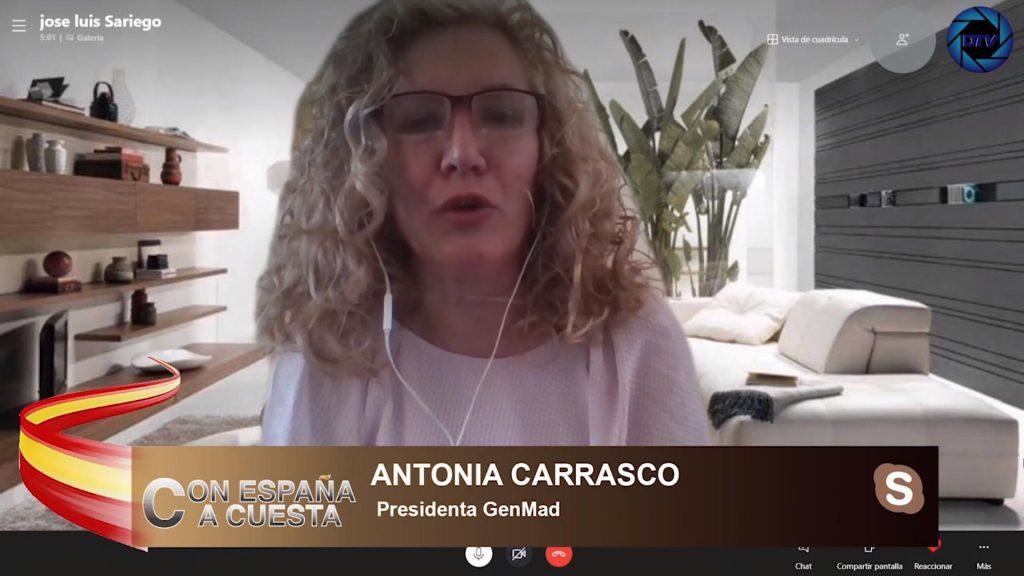 """Antonia Carrasco: """"Que una ministra acuse a una persona no es algo ético, no es profesional"""""""