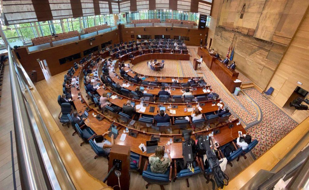La Asamblea de Madrid tendrá 136 diputados, cuatro más que en la actual legislatura