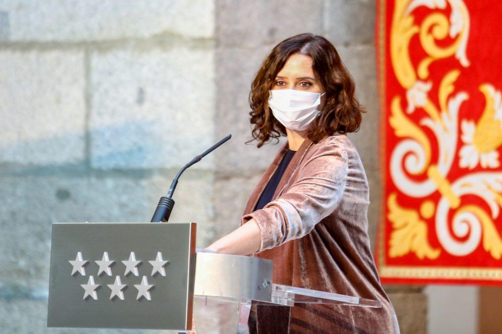 Ayuso convoca elecciones anticipadas a la Comunidad de Madrid