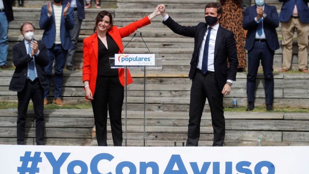 """Ayuso reivindica su proyecto: """"Los madrileños no quieren que nadie les trate como ganado"""""""