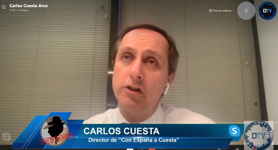 """Carlos Cuesta: """"Sánchez usa los fondos europeos como quiere, sin rendir cuentas a nadie"""""""