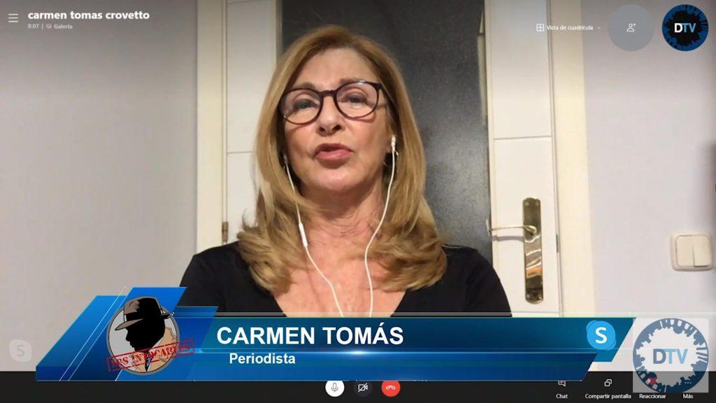 """Carmen Tomás condena que """"la izquierda ha convertido el feminismo en vandalismo"""""""