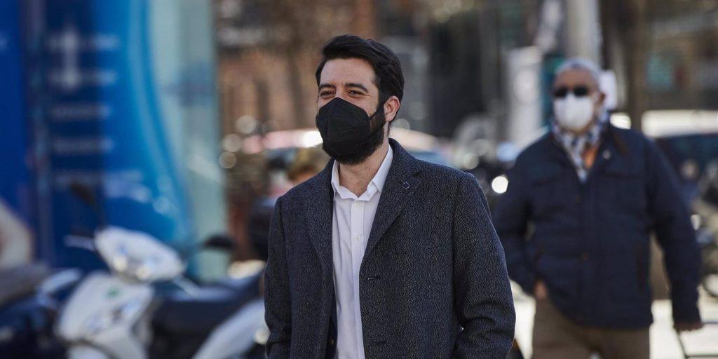 """El Nº 3 de Cs, César Zafra, dice que Gabilondo ha sido """"lacayo de Iglesias y Sánchez"""" estos años"""