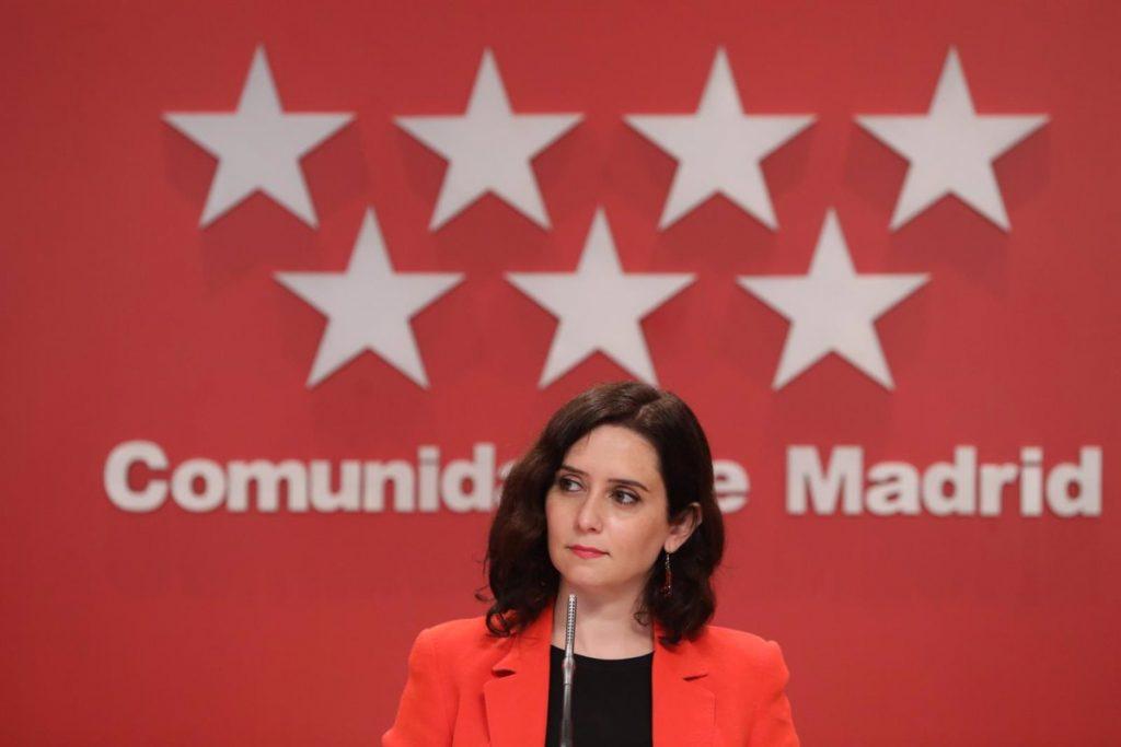 """Ayuso: """"Iglesias quiere a sus adversarios políticos en la cárcel y al entorno de ETA en la calle"""""""