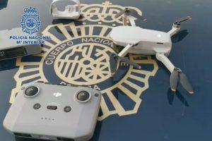 La Policía interceptó un dron que sobrevoló el Congreso de los Diputados y otros edificios estratégicos