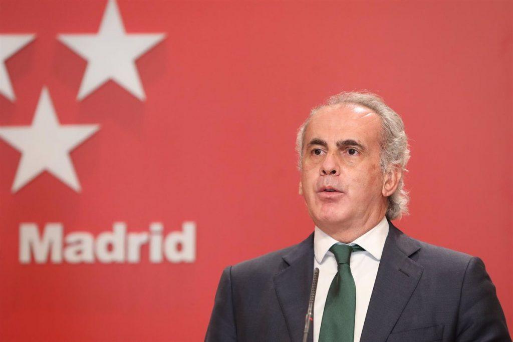 """Escudero acusa al Gobierno central de """"proyectar hacia Madrid toda su ineptitud"""" en la gestión de la pandemia"""