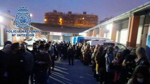 La Policía Nacional detuvo en Madrid a 25 personas y sancionó a 69 en cinco fiestas ilegales