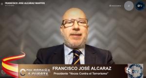 """Francisco José Alcaraz: """"Estamos sufriendo un terrorismo callejero de forma continuada"""""""