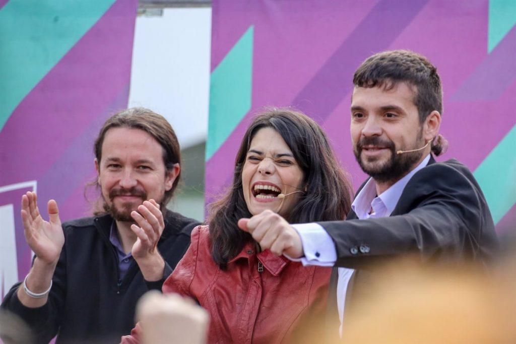 Iglesias pone a Isa Serra de Nº 2, a Jesús Santos de 3 y a Beatriz Gimeno de 4 en su lista a primarias