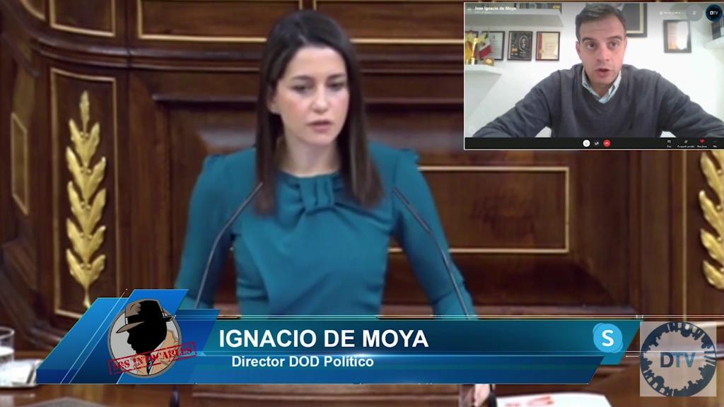 """Ignacio de Moya: """"La falta de liderazgo de Arrimadas acelera la muerte de Ciudadanos"""""""