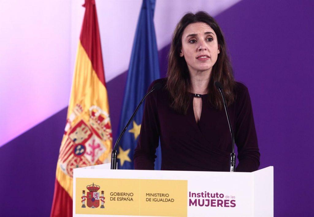 """Madrid cancela un acto de Irene Montero en un instituto para evitar """"adoctrinamiento"""""""