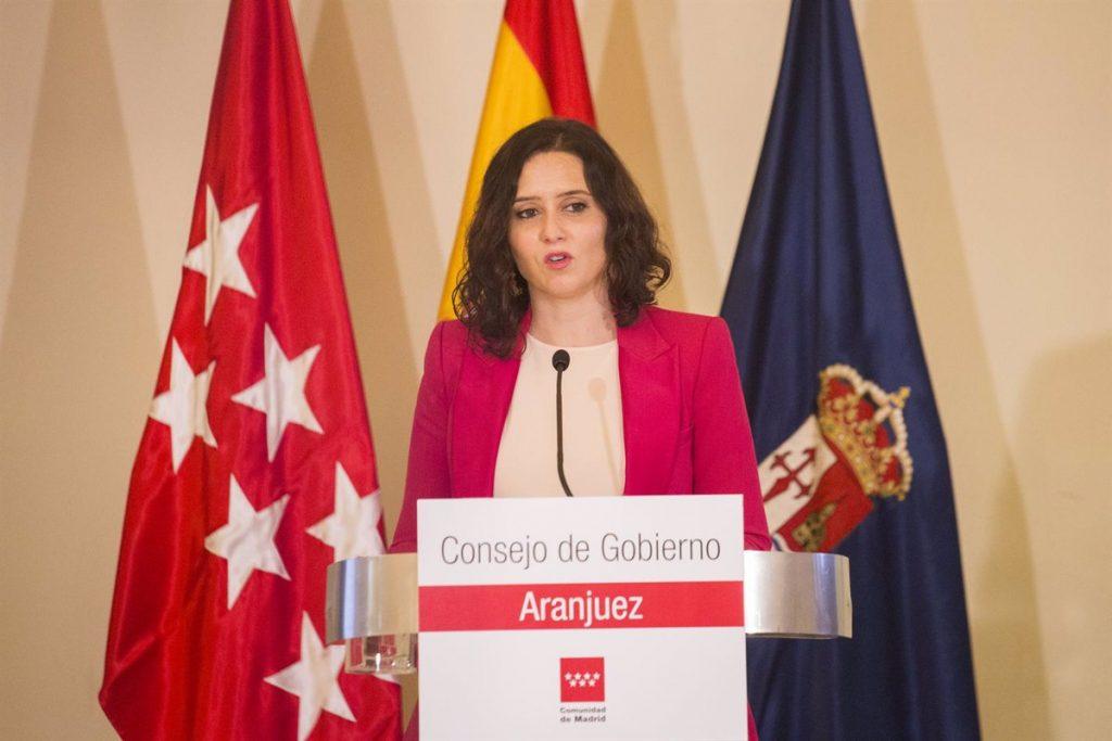 """Madrid no prevé """"en principio"""" que el día de las elecciones sea declarado festivo"""