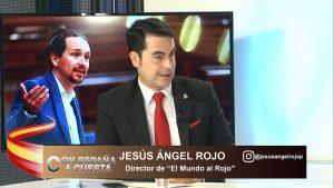 """Jesús Ángel Rojo: """"Sánchez e Iglesias quieren instalar un régimen totalitario y el caos total en España"""""""