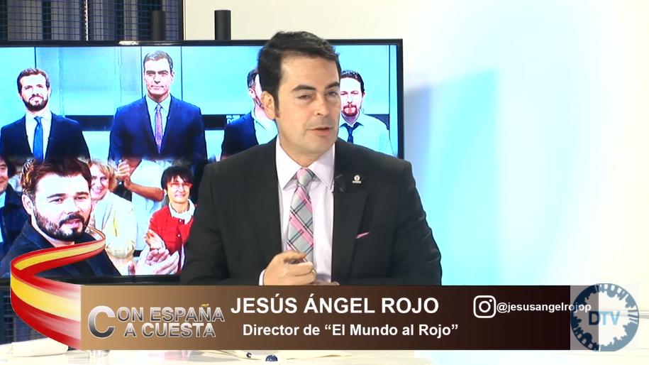 """Jesús Ángel Rojo: """"Sánchez se ha unido con la peor izquierda de Europa, con terroristas y racistas"""""""