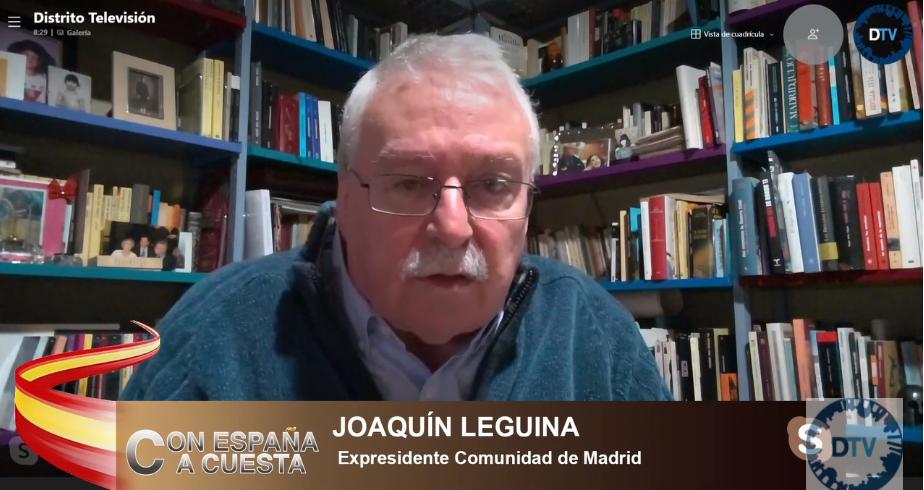 "Joaquín Leguina: ""Iglesias quiere eliminarla, pero la Monarquía va a seguir en España"""