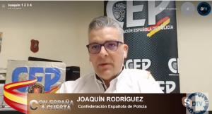 """Joaquín Rodríguez: """"Ha habido agresiones directas a los policías"""""""