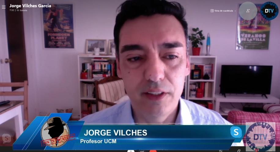 """Jorge Vilches: """"Sánchez busca reivindicarse con el acto de destrucción de armas"""""""