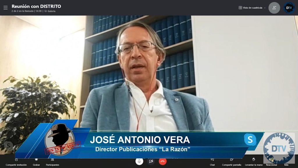 """José Antonio Vera: """"El plan de Moncloa les ha salido mal, Sánchez ha perdido al igual que Ciudadanos"""""""