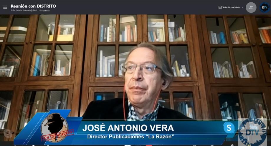 """José Antonio Vera: """"Los gobernantes en Cataluña quieren el caos, nada es casualidad"""""""