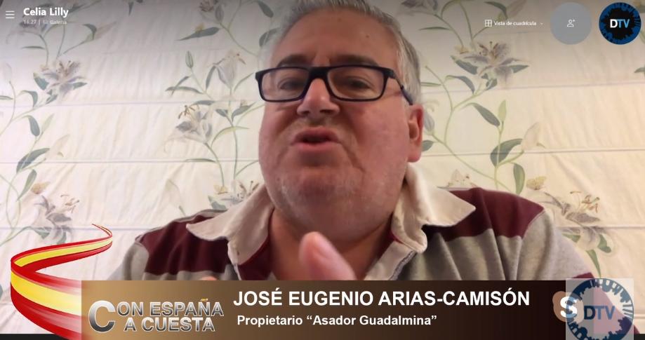 """José Eugenio Arias: """"No queremos ayuditas, queremos indemnizaciones"""""""