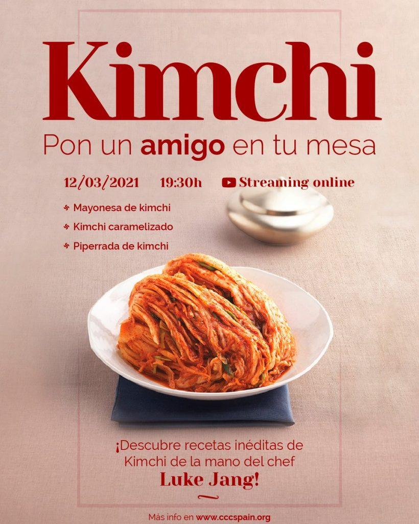 'Kimchi, pon un amigo en tu mesa', un evento culinario del Centro Cultural Coreano en España