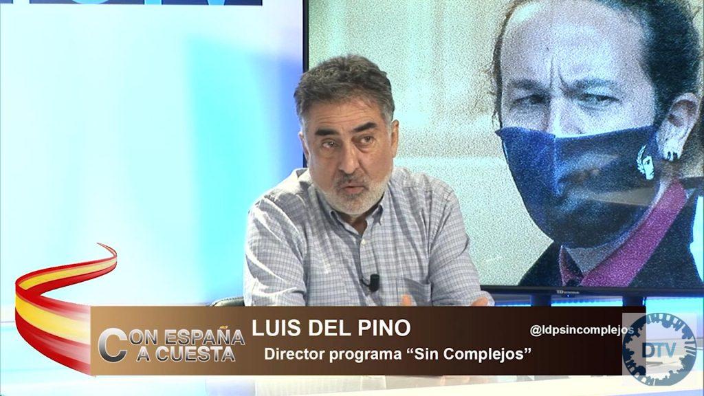 """Luis del Pino: """"Iglesias quedaba por debajo del 5% en las encuestas, por eso se presenta a las elecciones"""""""