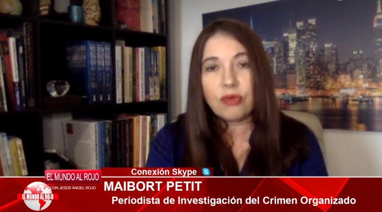 """Maibort Petit: """"La España de Sánchez e Iglesias es la de Hasél y Maduro, una dictadura infecta"""""""
