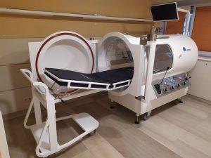 El hospital HLA Universitario Moncloa incorpora una sala de Medicina Hiperbárica