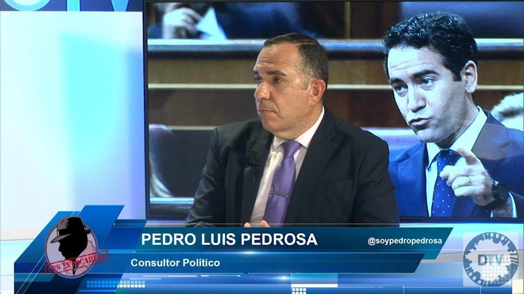 """Pedro Luis Pedrosa: """"La palabra de Iglesias no es sincera, no se irá sin tramar algo"""""""