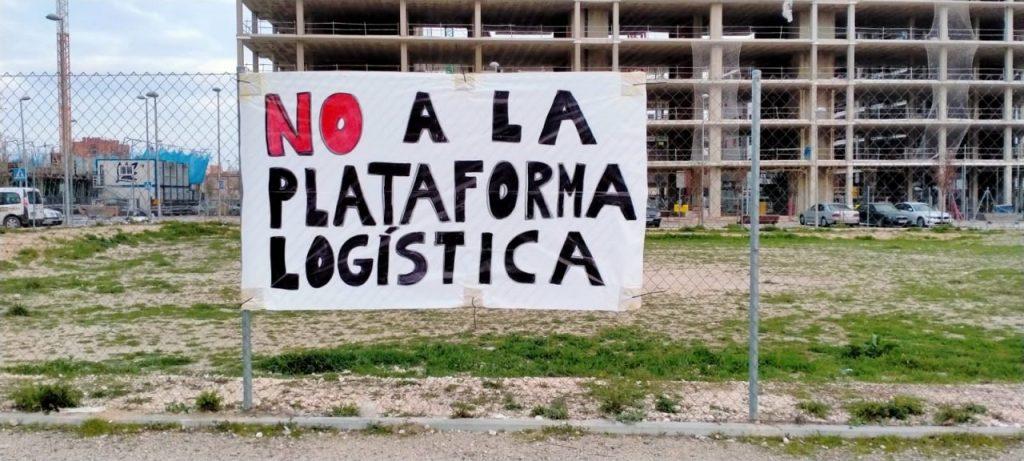 Asociaciones vecinales protestarán este jueves ante la Junta de Villaverde por la planta logística PALM-40
