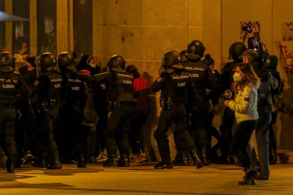 Alerta en Madrid por la convocatoria de varias manifestaciones para este fin de semana