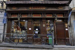 El restaurante Lhardy intenta resistir a la pandemia y renegociar sus deudas al entrar en preconcurso