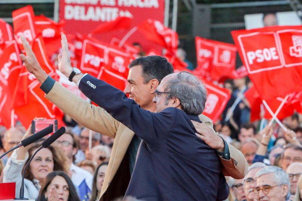 Gabilondo presentará este sábado junto a Sánchez la lista completa de su candidatura
