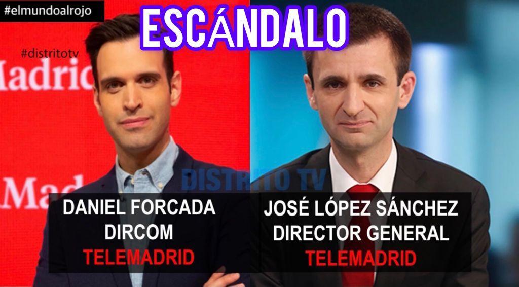 ¡Salta por los aires el escándalo de Telemadrid! Dosieres secretos realizados contra Distrito TV