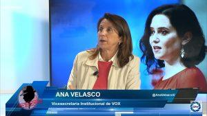 """Ana Velasco: """"Los escaños de Ciudadanos se pueden sumar a los de la izquierda, es preocupante"""""""