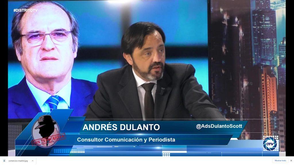 """Andrés Dulanto: """"Muchas personas reciben amenazas que no se hacen públicas"""""""