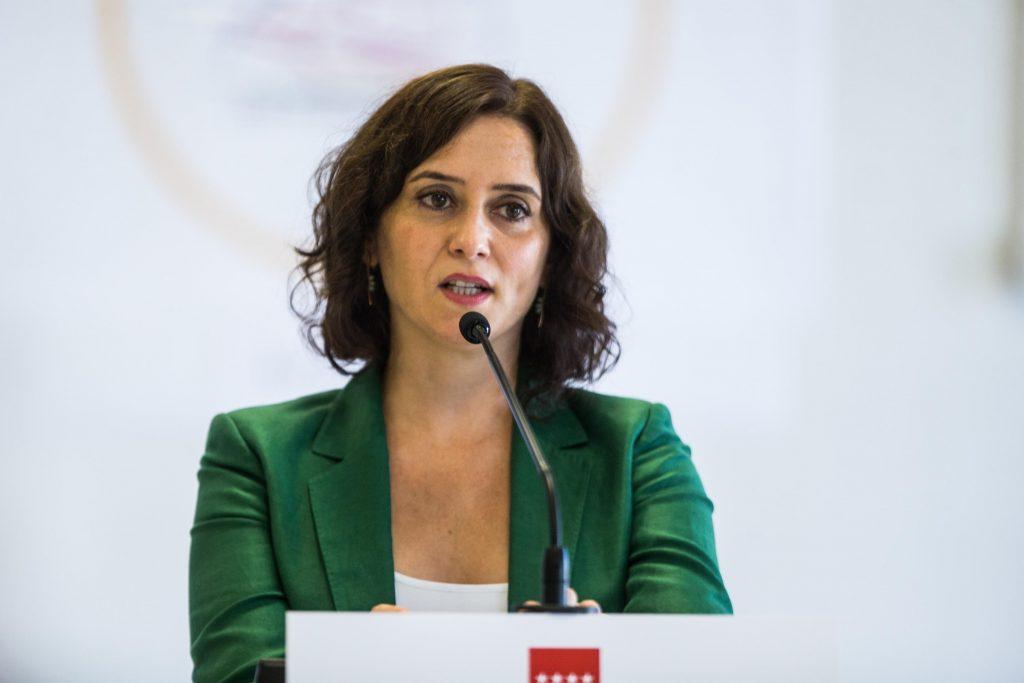 Ayuso acudirá al debate electoral que organizará Telemadrid el 21 de abril