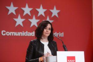 Madrid continuará aplicando el toque de queda y la prohibición de reuniones de no convivientes