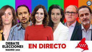 Díaz Ayuso busca mantener la ventaja frente a sus opositores en el debate electoral