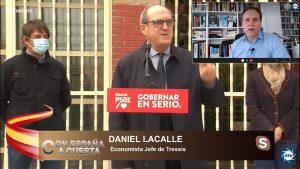 """Daniel Lacalle: """"El PSOE subirá impuestos, lo tiene en su programa y lo ha dicho siempre"""""""