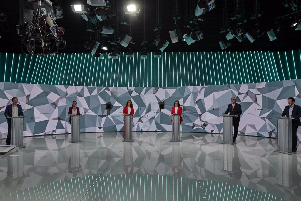 La pandemia, los impuestos, Sánchez y los 'menas' marcaron el debate electoral