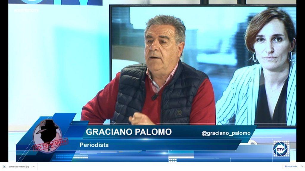"""Graciano Palomo: """"Los madrileños no se merecen esto, se merecen soluciones a sus problemas"""""""