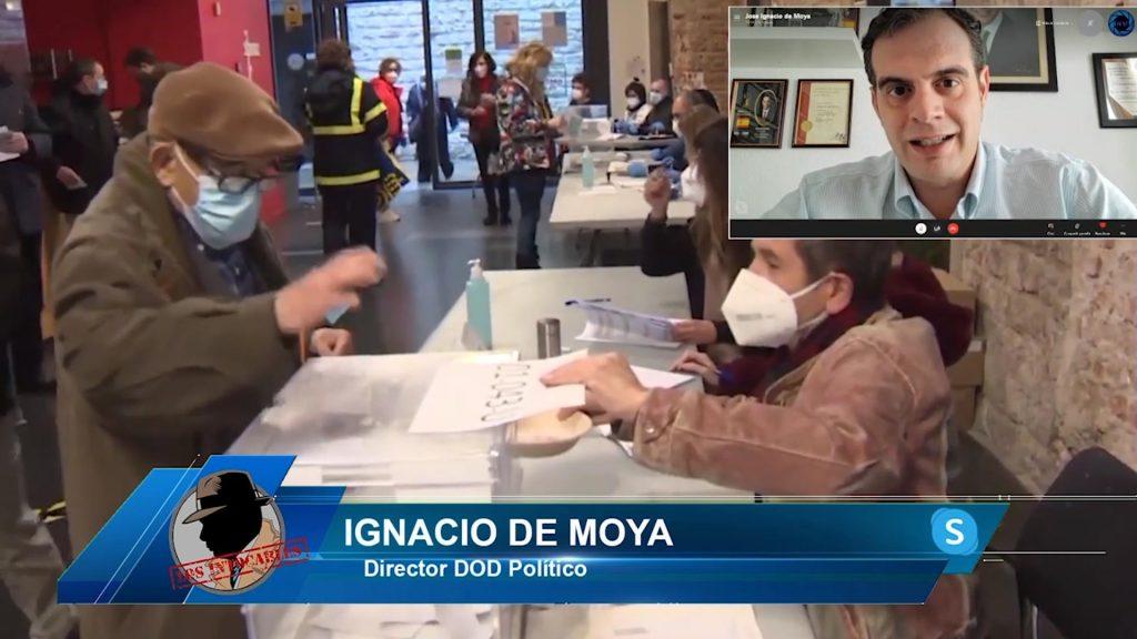 """Ignacio De Moya: """"Los resultados del CIS de Tezanos son maquillados, es la forma de asegurar el voto de la izquierda"""""""