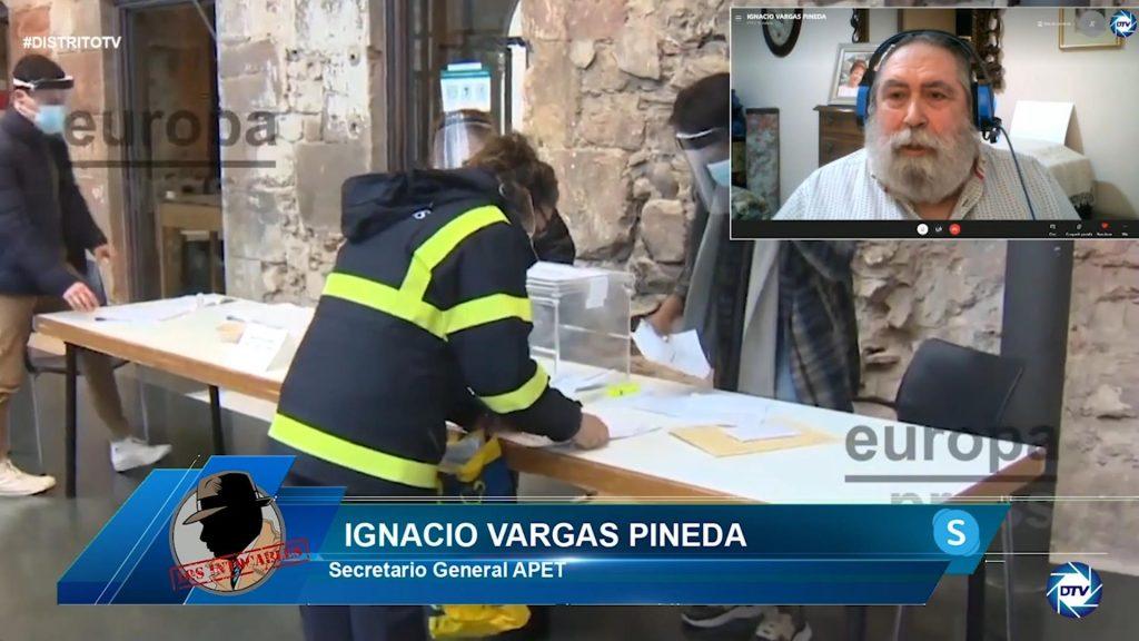 """Ignacio Vargas: """"El voto por correo no es custodiado en un tramo, no es algo seguro"""""""