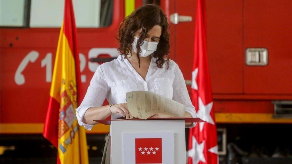 """Ayuso fustiga al PSOE por el acercamiento del etarra Txapote: """"Es una de las mayores indignidades de España"""""""