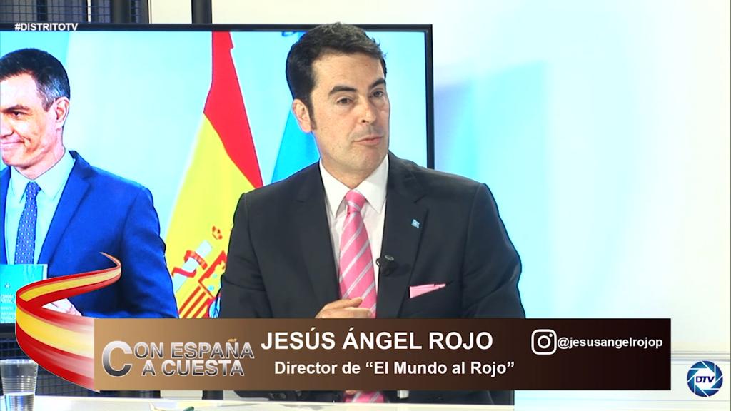 """Jesús Ángel Rojo: """"Sánchez no condena la violencia, más bien algunos de sus ministros lo alientan"""""""