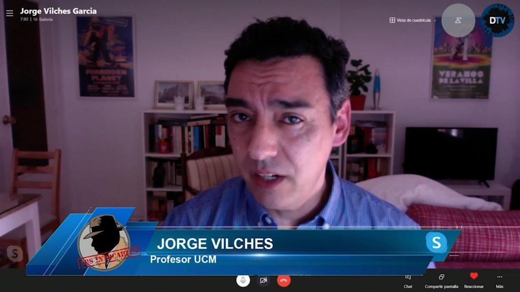 """Jorge Vilches: """"Estos últimos años hemos visto a un PSOE que se basa en la mentira"""""""